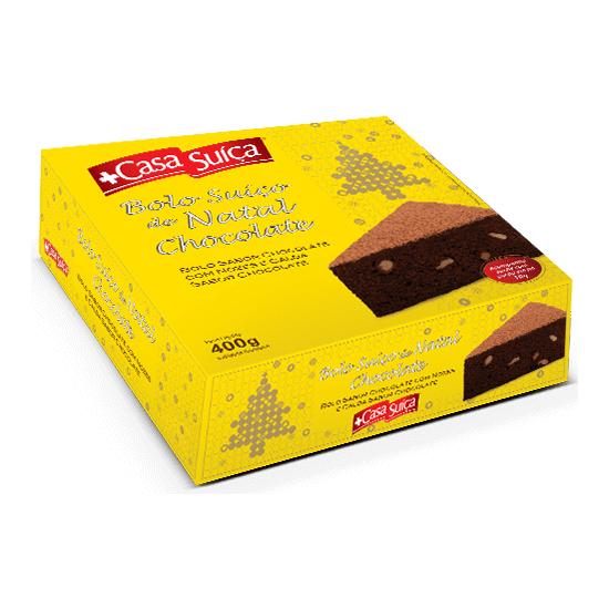 Suica chocolate natal