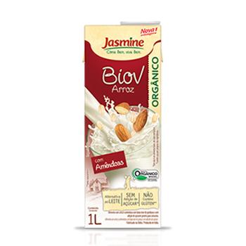 Jasmine arroz amendoas