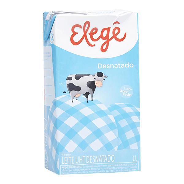 Elege leite desnatado