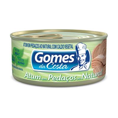 Gomes atum pedacos nat