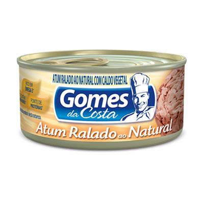 Gomes atum natural ralado