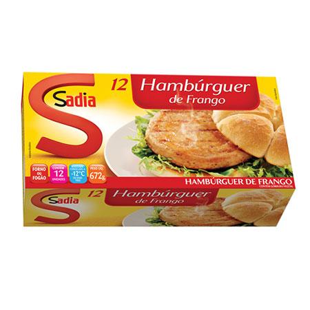 Sadia hamburger frango