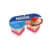 Nestle flan morango