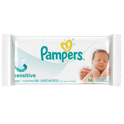 Pampers sensitive 56
