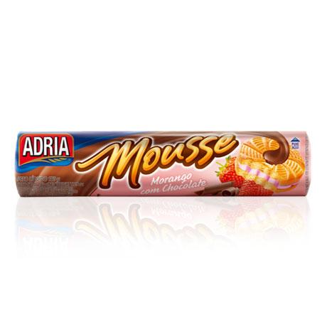 Adria mousse morango