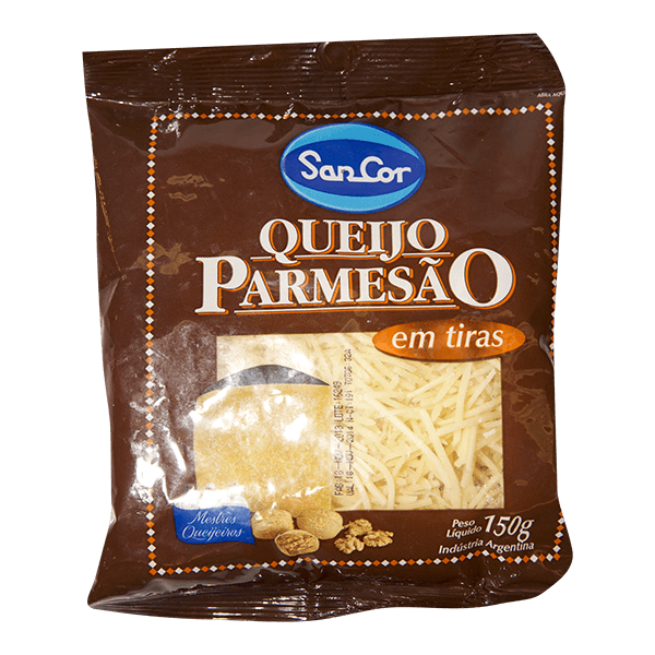 0001884 queijo parmesao sancor em tiras 150g