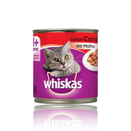 Whiskas carne lata