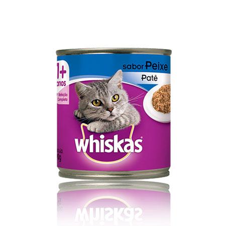 Whiskas lata peixe