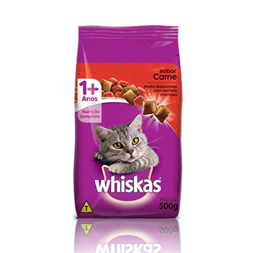 Whiskas dry carne p