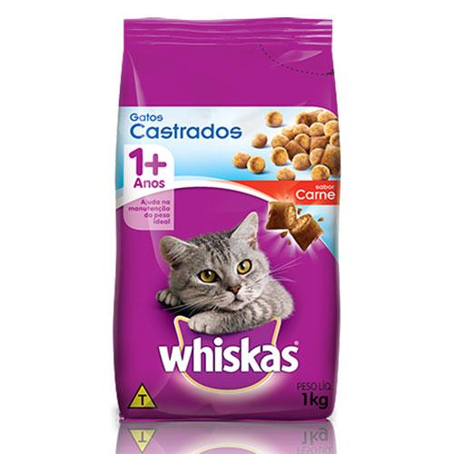 Whiskas dry castrados