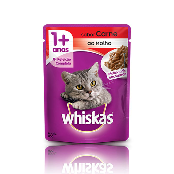 Whiskas sache carne