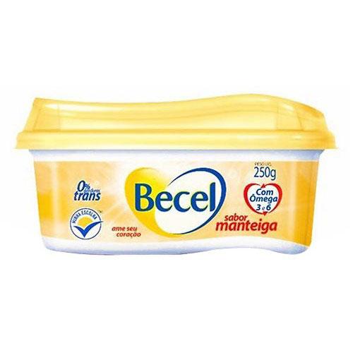 Creme vegetal becel manteiga 250g
