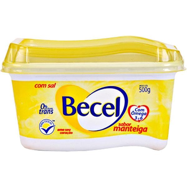 Creme vegetal becel manteiga 500g