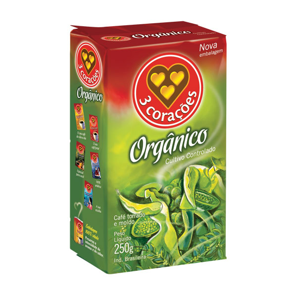 Organico vacuo 250g