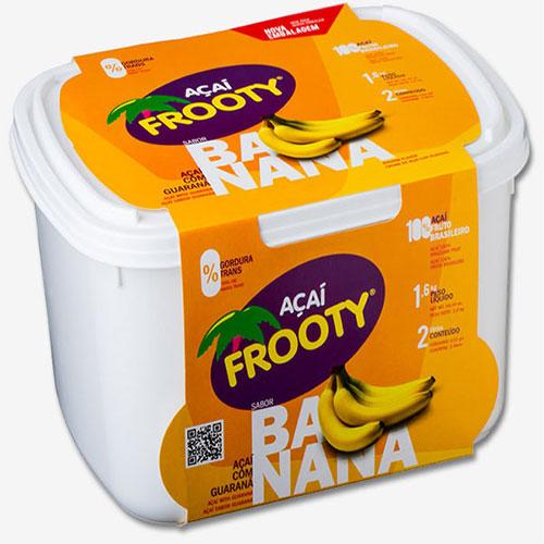 Acai frooty banana 2 litros