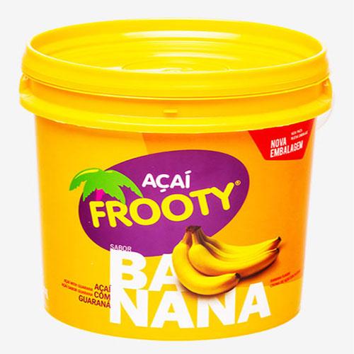 Acai frooty banana pote 1 02kg
