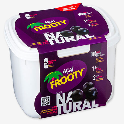 Acai frooty natural 2 litros