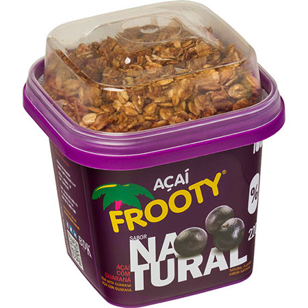 Acai frooty natural com granola 200g