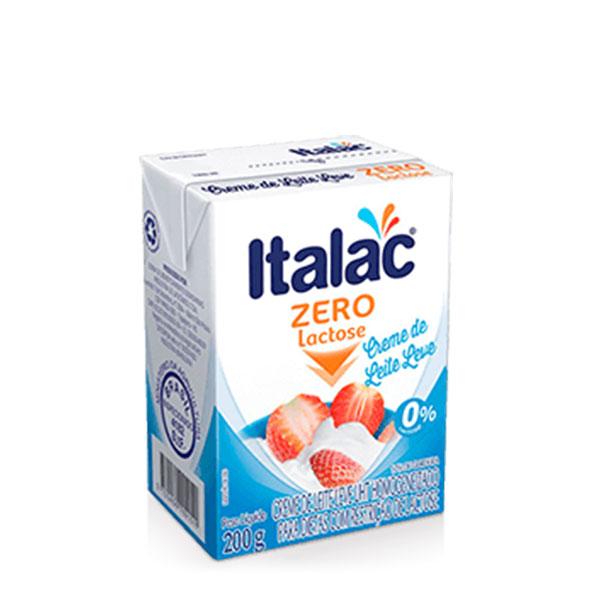 Creme leite italac