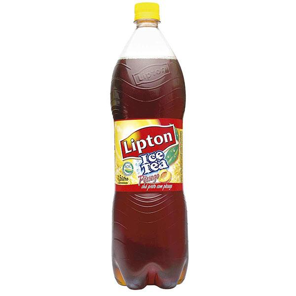 Cha lipton pessego15l
