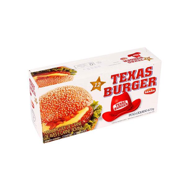 Ham seara texasburguer