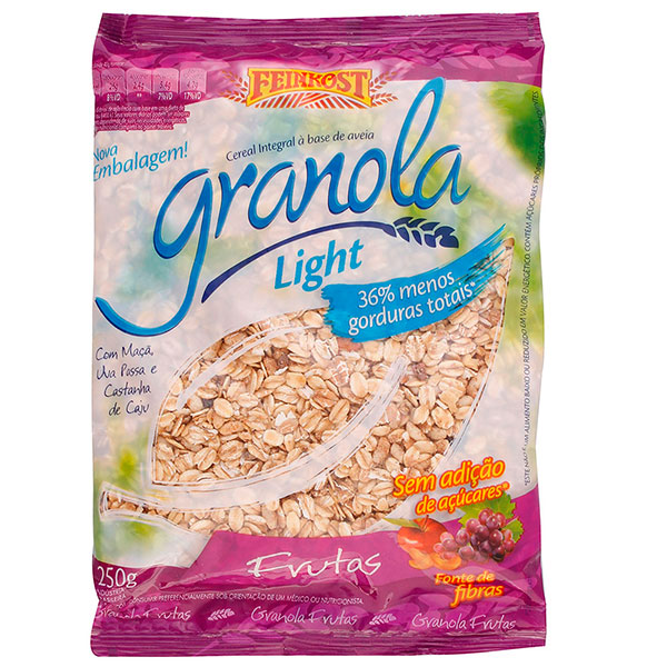 Granola feinkost frutas light