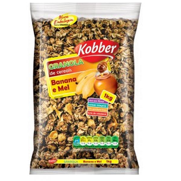 Granola kobber banana mel 1kg