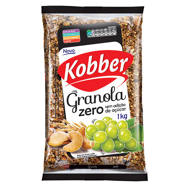 Granola kobber zeroacucar 1k