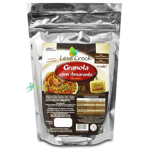 Granola levecrock semgluten amaranto250g