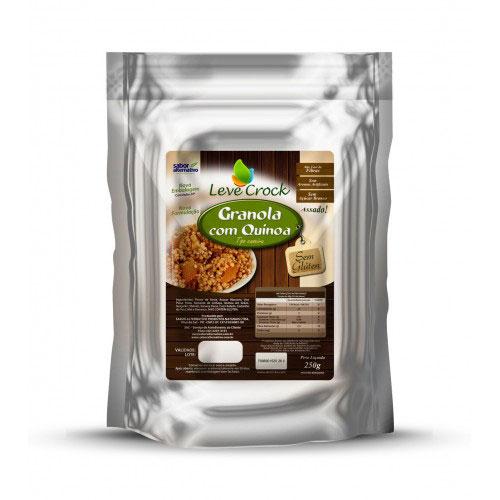 Granola levecrock sgluten quinoa