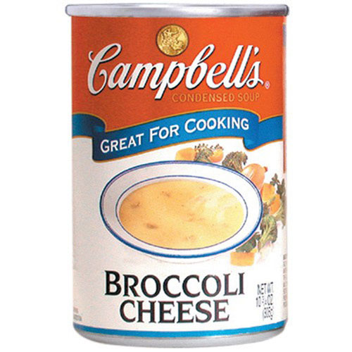 Sopa campbell broccolis cheese 300g