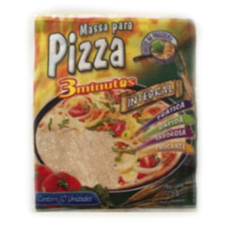 Pizza mini 3minutos integral 250g