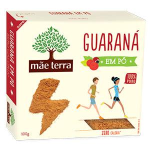 Guarana po maeterra caixa 100g