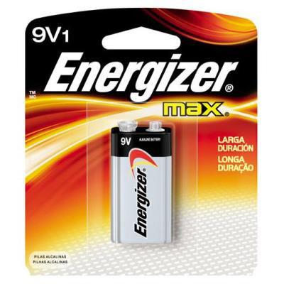 Pilha energizer max 9v 1un