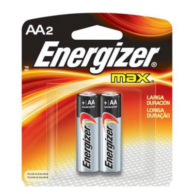 Pilha energizer max aa c2