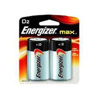 Pilha energizer max d 2un