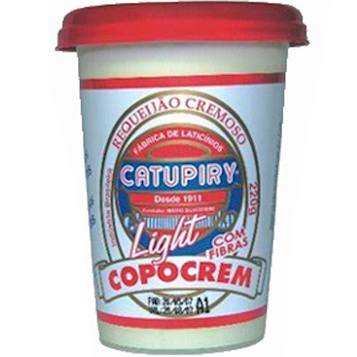 Requeijao catupiry copocrem light 220g