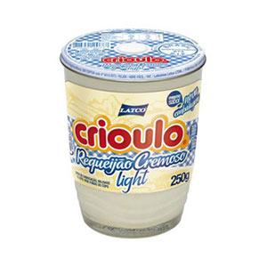 Requeijao crioulo light 250g