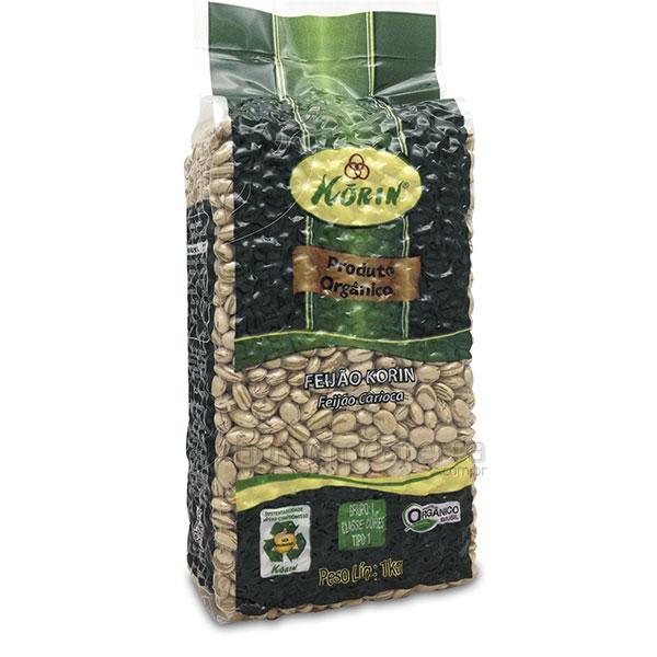 Feijao carioca organico korin 1kg