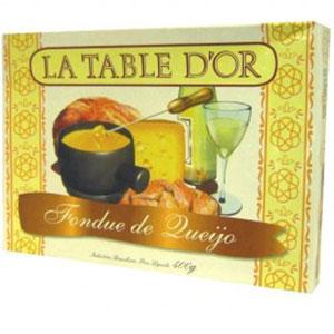 Fonfue la table dor queijo 400g