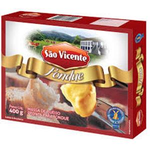 Fondue queijo sao vicente 400g