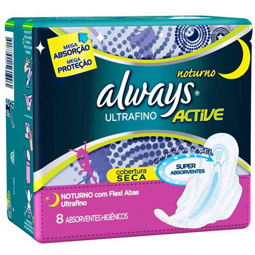 Abs always active ultra fino 8