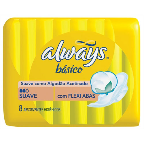 Abs always basico suave c abas 8