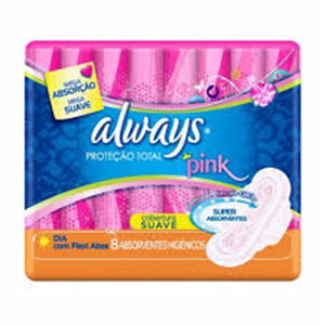 Abs always pink com abas 8