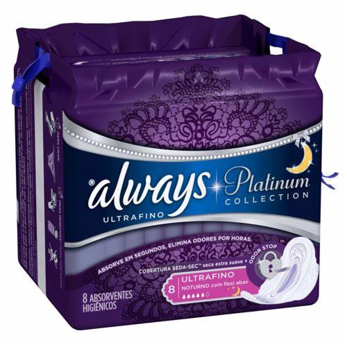 Abs always platinum com abas 8
