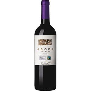 Vinho adobe merllot 750ml
