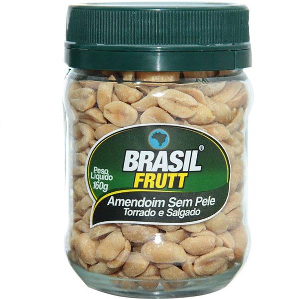 Amendoim brasil frutt sem pele 160g