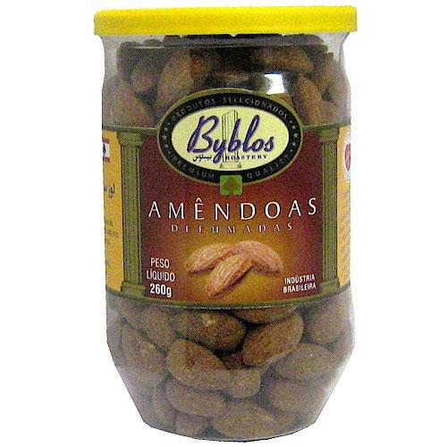 Amendo torrada defumada byblos 260g