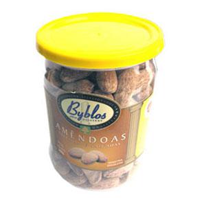 Amendoa torrada salgada byblos 260g