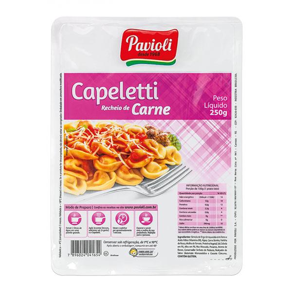 Capeletti paviolli carne